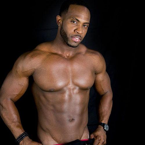 donkere striptease man El Grande