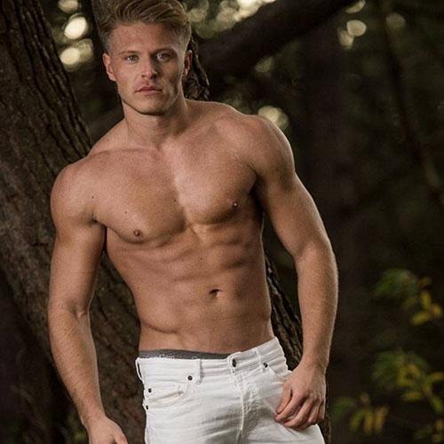 mannelijke striper Lex