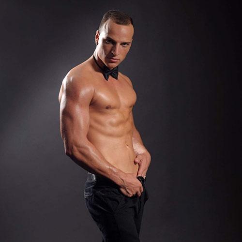 striptease man Tony